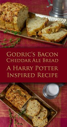Frugal Food Items - How To Prepare Dinner And Luxuriate In Delightful Meals Without Having Shelling Out A Fortune Harry Potter Recipes Gryffindor Recipes Bread Recipes The Geeks Have Created A Gryffindor Themed Recipe, Godric's Bacon Cheddar Ale Bread, To Harry Potter Snacks, Harry Potter Baking Recipes, Easy Cooking, Cooking Recipes, Drink Recipes, Harry Potter Christmas, Food Inspiration, Bread Recipes, The Best