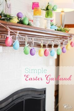 Simple DIY Easter Pa