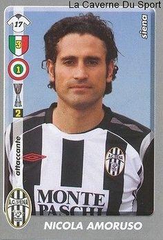 Nicola Amoruso Italia Ac.siena Rare Update Sticker Calciatori 2009 Panini Football Stickers, Juventus Fc, Football Soccer, Trading Cards, Goal, Figurine, Picture Cards