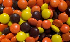 A favorite of E.T., Reese's Pieces are a fun candy with a crunchy shell similar to M&Ms. The big difference is the inside, as these yellow, orange and brown treats are filled with peanut-buttery goodness.