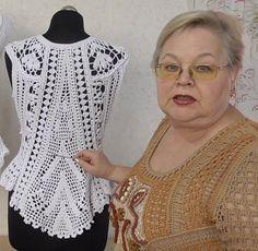 Seamless Lace High Waist Panty (Set of Crochet Tunic Pattern, Crochet Shirt, Crochet Cardigan, Crochet Patterns Amigurumi, Knit Crochet, Crochet Summer Tops, Crochet Tops, Handmade Clothes, Crochet Designs
