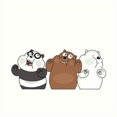 we bare bears wallpapers We Bare Bears Wallpapers, Panda Wallpapers, Cute Cartoon Wallpapers, Ice Bear We Bare Bears, We Bear, Cute Panda Wallpaper, Kawaii Wallpaper, Mood Wallpaper, Bear Wallpaper