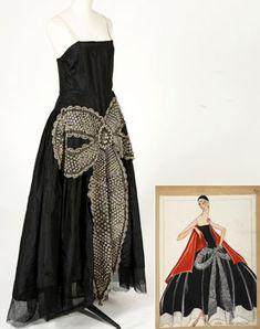 "Lanvin evening dress ""The Cavallini"" 1925"