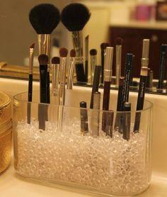 Brilliant And Easy DIY Makeup Storage Ideas - Stauraum Schaffen - Badezimmer