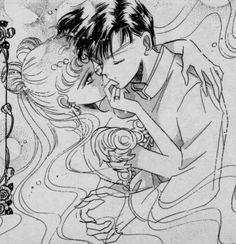 Usagi and Mamoru from Sailor Moon