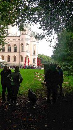 Herbst auf Rügen und ein Aquarell vom Jagdschloss Granitz   Motivsuche am Jagdschloss Granitz (c) Frank Koebsch