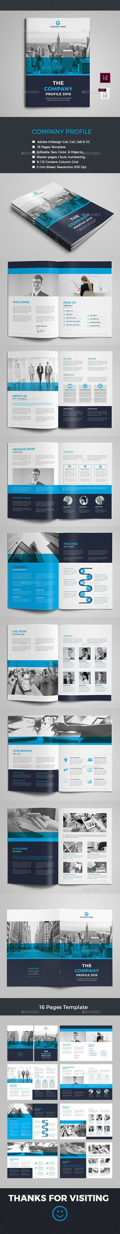 195 Best Company Profile Brochure Templates images   Company