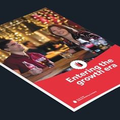 Cover of the Coca-Cola HBC 2016 Integrated Annual Report Operational Excellence, Operations Management, Coca Cola, Leadership, News, Cover, Coke, Cola
