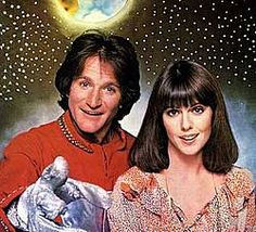 Mork & Mindy   Starred Robin Williams and Pam Dawber. Ran on ABC from 1978-1982