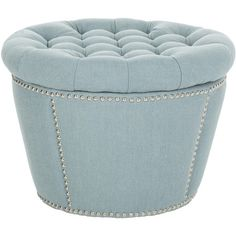 I pinned this Dahlia Tufted Storage Ottoman from the Furniture Under $300 event at Joss and Main!