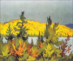 J Casson's most popular prints at the Golden Eagle Art Gallery in Stouffville, Ontario. We carry many canvas options so you can own the fine art reproduction that best suits your home. Group Of Seven Artists, Group Of Seven Paintings, Tom Thomson, Watercolor Landscape, Landscape Art, Landscape Paintings, Art Paintings, Emily Carr, Canadian Painters