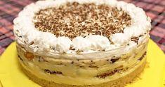 Nepečena torta sa turskim keksom i narandžom — Domaći Recepti Pillsbury Recipes, Baking Recipes, Cake Recipes, Dessert Recipes, Torte Recepti, Kolaci I Torte, Cake Truffles, Cake Cookies, No Bake Desserts