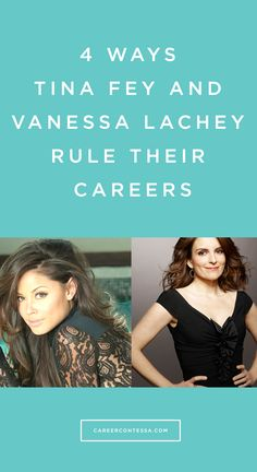It's not every day #VanessaLachey opens-up about the real life career advice she got from her mentor #TinaFey. #CareerAdcice #Mentor #Networking