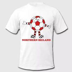 Northern Ireland Designer Shirt Soccer  - Men's Fine Jersey T-Shirt
