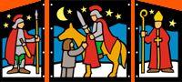 Wunderschönes Fensterbild vom Heiligen Martin Hobbies For Kids, Hobbies And Crafts, St Martin, Halloween, Lanterns, Beautiful, Window Picture, Martini, Little Ones