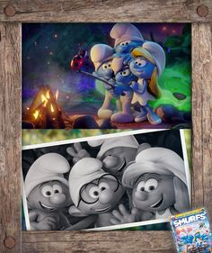 Say Blue Cheese! Smurf Scout Camp is available exclusively at Target on Smurfs: The Lost Village Blu-ray Disney Movies, Disney Pixar, Lost Village, Evil Wizard, Smurfette, Calvin And Hobbes, Magical Creatures, Blue Cheese, Cute Illustration