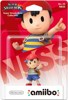 Amiibo - Super Smash Bros. (Wave 4) - Ness (Gamestop Exclusive)