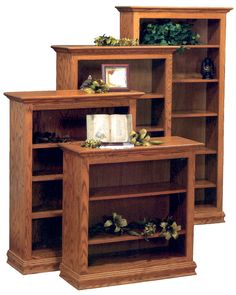 Bookcases in traditional style
