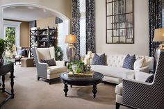 Photo taken by Zack Benson Traditional Living Room Design