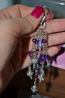beaded key chains!!!