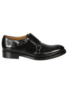 VALENTINO GARAVANI BUCKLED MONK SHOES. #valentino #shoes #