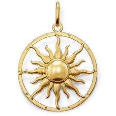 Tweet, share & like!      Thomas Sabo Gold-Plated Silver ''Special Addition' Pendant http://www.boumanonline.com/jewelry/thomas-sabo-gold-plated-silver-special-addition-pendant-57-pe554-413-12