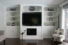 built in entertainment wall units | Here are some photos of several Handyman and Custom Projects we've ...