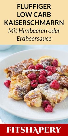 Making a Kaiserschmarrn fluffy and low in calories in the pan? Nothing easy .- Making a Kaiserschmarrn fluffy and low in calories in the pan? Nothing easier than that! Here you will find our healthy low carb Kaiserschmarrn recipe for losing weight. Low Calorie Breakfast, Low Carb Lunch, Low Carb Diet, Breakfast Healthy, Free Breakfast, Low Carb Desserts, Low Carb Recipes, Diet Recipes, Cooker Recipes