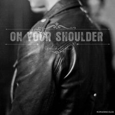 On your shoulder