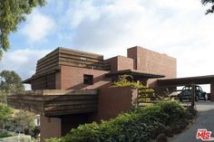 Frank Lloyd Wright-designed The Sturges Residence in Los Angeles, California, USA