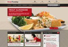 Thiết kế website ẩm thực nhà hàng ấn tượng