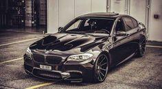 BMW F10 M5 b&w