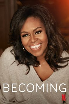 """Join former first lady Michelle Obama in an intimate documentary looking at her life, hopes and connection with others as she tours with """"Becoming."""" Michelle Obama, May Parker, Documentary Now, Netflix India, African American Culture, Press Release Distribution, Adventure Movies, Romance Movies, Badass Women"""