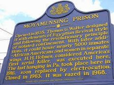 Horsing Around At Home-History of the Moyamensing Prison in PA.
