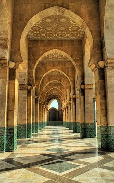 Hassan II Mosque by Mark Blundell