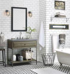 Arredare un bagno vintage