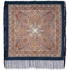 Pavlovo Posad Shawl Mosaic with Silk Fringe 543-15 by Pavlovo Posad. $44.99. Pavlovsky Posad Wool Shawls are made at the Pavlovo Posad factory which is a small town just outside of Moscow. Factory has been there since 1812. Up till today the Pavloposadskaya factory produces an extremely wide range of gorgeous wool shawls and scarves, favored by many women. Traditionally, women use them as headwear or wear them around their shoulders or waist. Some shawl patt...