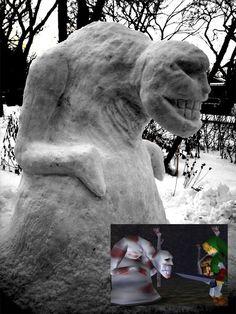 Legend of Zelda Dead Hand Snowman