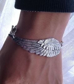 Steampunk Angel Wing Bracelet  Victorian bracelet  by pier7craft, $9.50 by Chris407