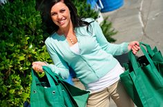 """Going green!  """"How to select the best organic foods"""""""