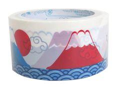 Packing Tape Pattern: Mount Fuji.
