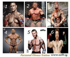 Whose body is your favorite? --------------------> ezfit.sg