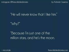 But do you want a moon? A moon just reflects your… songs (lcantas magia> /mæʤɪk/ Hurt Quotes, Sad Quotes, Love Quotes, Inspirational Quotes, Tiny Stories, Short Stories, Story Quotes, Teenager Quotes, One Liner