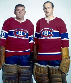 bb6953d70 Gump Worsley and Charlie Hodge . the Canadiens goalies that I remember the  most
