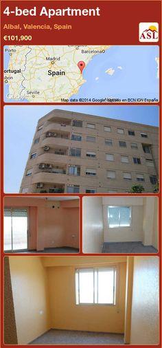 4-bed Apartment in Albal, Valencia, Spain ►€101,900 #PropertyForSaleInSpain