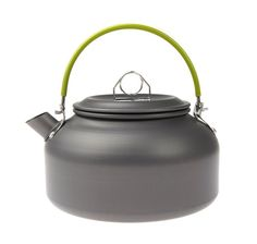 Showutheworld 0.8L Portable Ultra-light Teapot Anodised Aluminum Hiking Picnic Camping Survival Coffee Water Teapot Kettle Pot for Backpacking Travel Trip Outdoor Cooking * Want to know more, click on the image.
