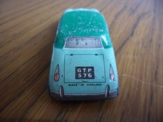 Tin plate Car Made in Englans GTP 576 Used Condition vintage | eBay