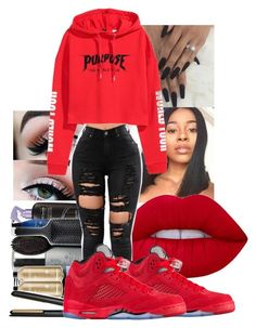 """""""Im back ❤"""" by maliy-682 ❤ liked on Polyvore featuring Lime Crime"""