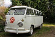 VW Split Screen RARE 9 seater 15 Window Bus Project Camper van Campervan   eBay