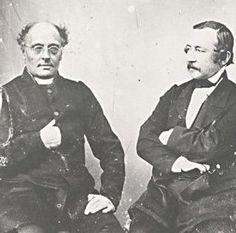 """Runeberg ja Topelius 1863 - Helsingfors Morgonblad perustett.1832,sen ensimm.toimittaja oli Runeberg.Hän sai Porvoon kymnaasin lehtorin viran 1837 ja hänen Porvooseen muuttonsa aiheutti Lauantaiseuran säännöll.toiminnan loppumisen.Topelius kuvaa """"Päiväkirjoissaan"""", kuinka Lauantaiseuran iltojen aikana pääsi tutustumaan """"Runebergin tyyneen huumoriin"""".Runeberg toimitti opett.työn ohella Borgå Tidning -lehteä 1838-39.Porvoon kymnaasin rehtorina hän toimi 1847-1850. Finland, Film, Music, Books, School, Design, Art, Historia, Movie"""